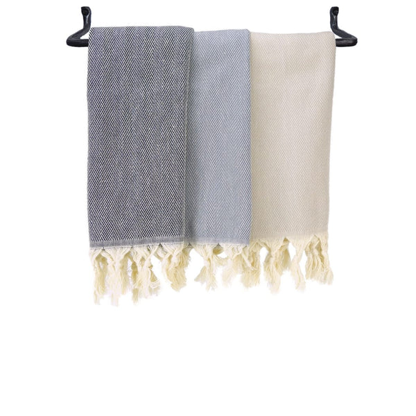 Turkish Hand Towel - Herringbone