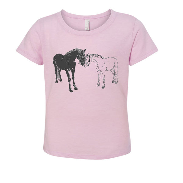 Kid's T-Shirt - Native Texan - Horses