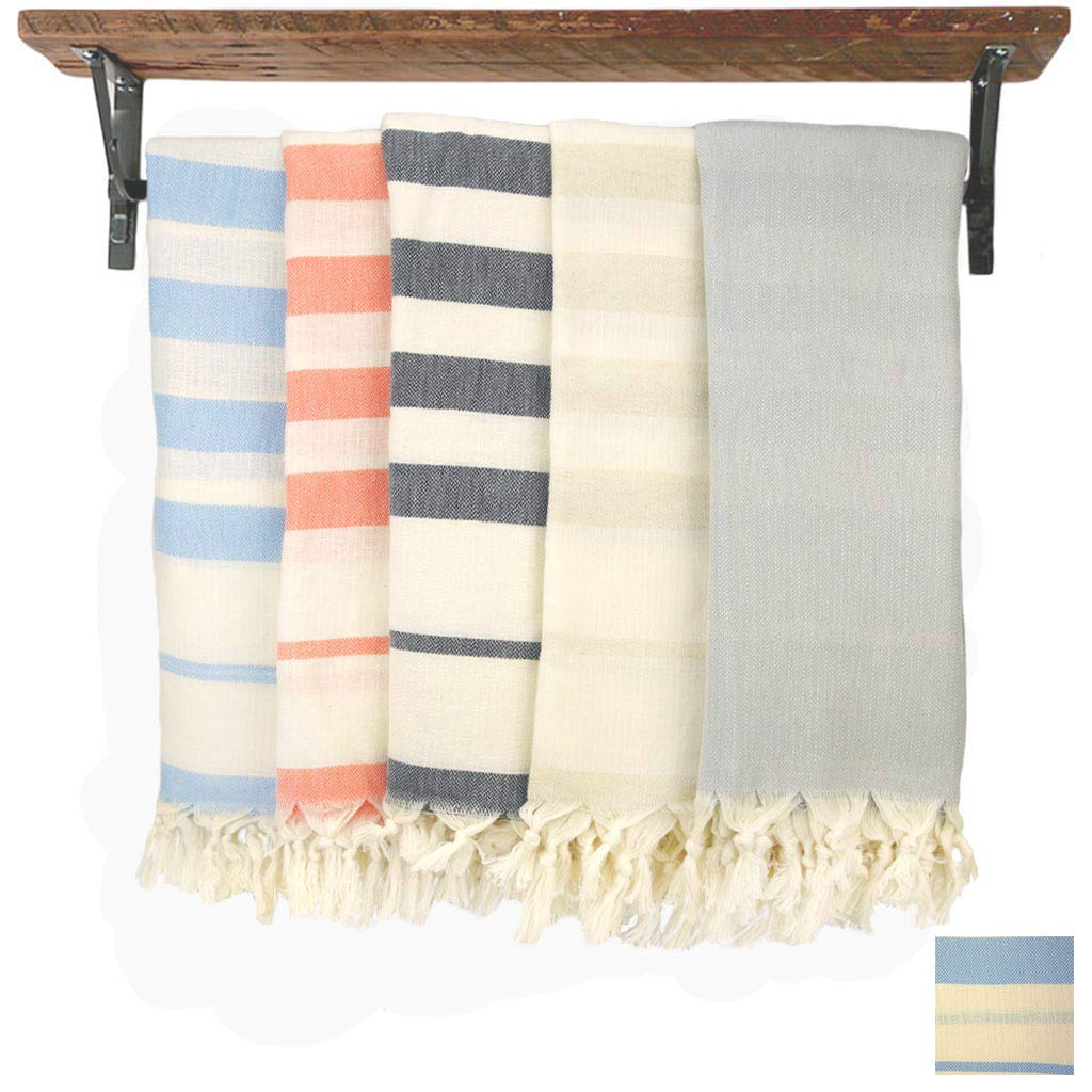 Turkish Towel / Scarf - Linen Cotton Blend