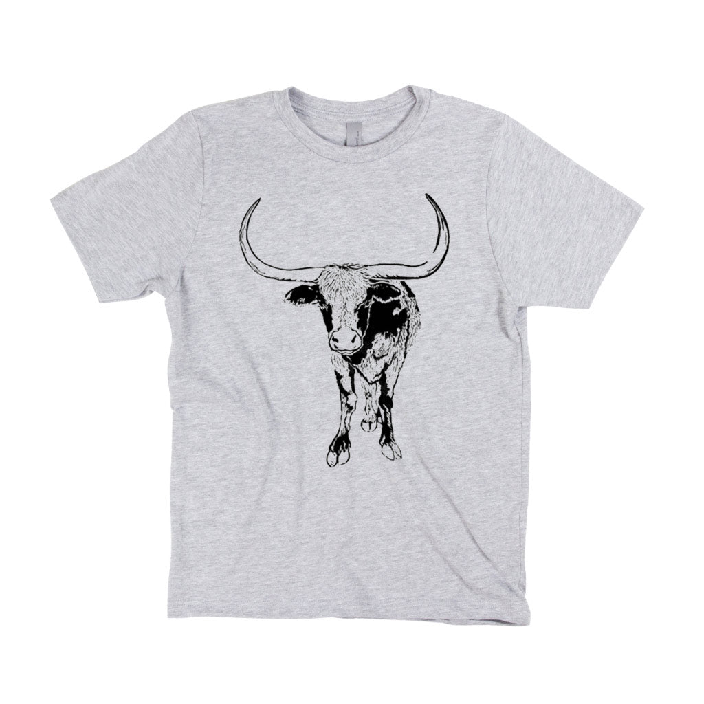Kid's T-Shirt - Native Texan - Longhorn