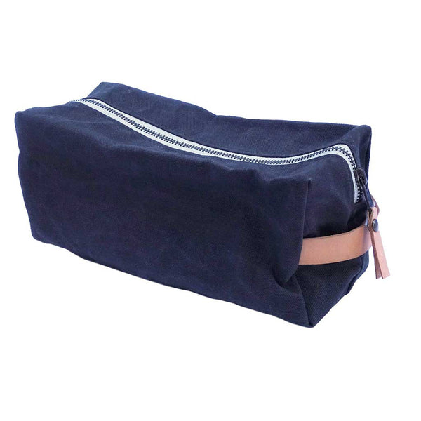 Dopp Kit - Waxed Canvas