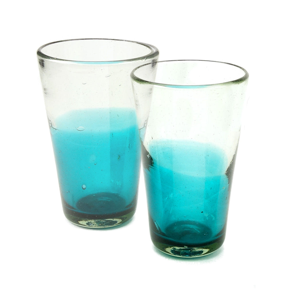 Ombre Glass Set - Mexican Glassware