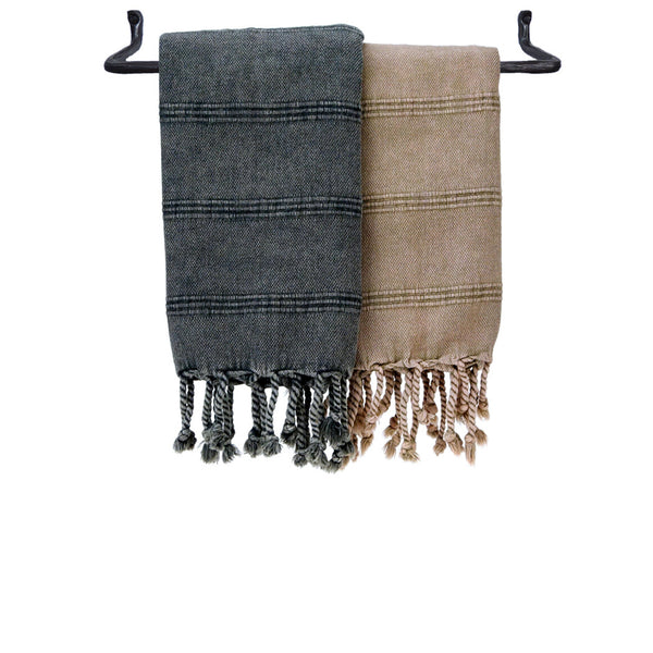 Turkish Hand Towel - Stonewashed