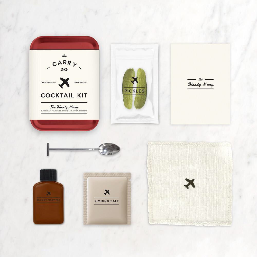 Cocktail Carry On Kit in Bloody Mary