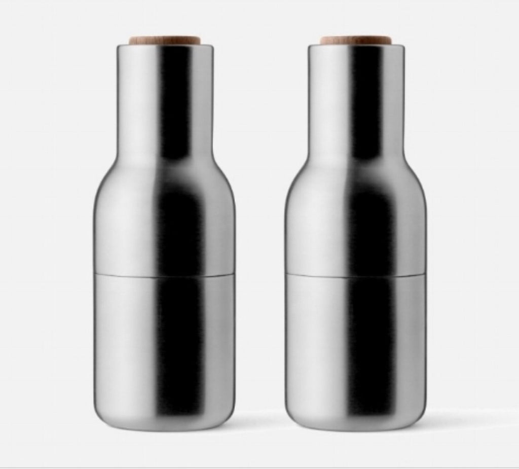 Menu bottle grinders