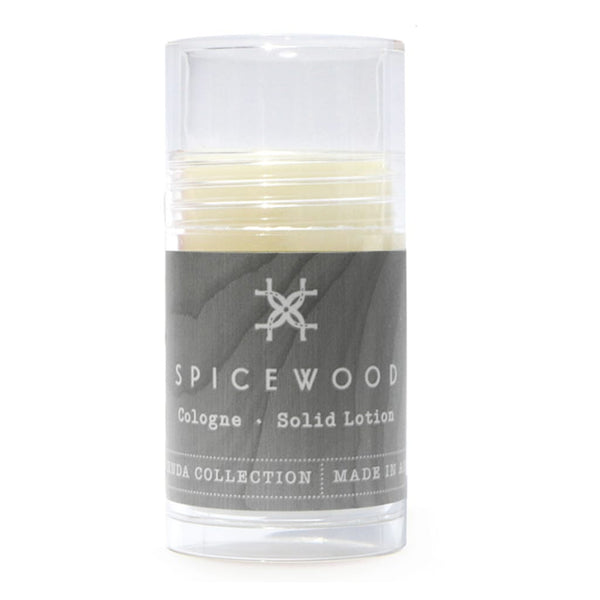 Organic Solid Cologne - Spicewood