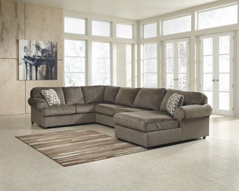 Brenda III 3 Pc. Sectional RAF Chaise/Armless Love/LAF Sofa