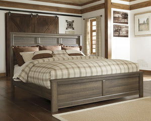 Shawn King Panel Bed