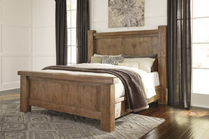 Vintage-Look Queen Bed