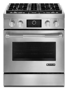 "Jenn-Air 30"" Pro-Style Dual-Fuel Range with MultiMode Convection"