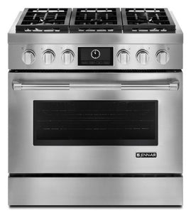 "Jenn-Air 36"" Pro-Style Dual-Fuel Range with MultiMode Convection"