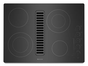 "Jenn-Air 30"" Electric Radiant Downdraft Cooktop with Electronic Touch Control - Call for Pricing"