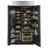 "Jenn-Air 42"" Built-In Side-by-Side Refrigerator with Water Dispenser - Call for Pricing"
