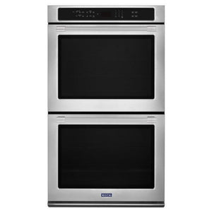 "Maytag 27"" WIDE DOUBLE WALL OVEN WITH TRUE CONVECTION - 8.6 CU. FT."