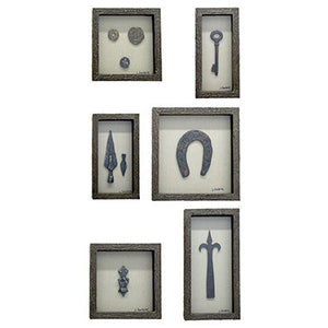 Collection of Curiosities Wall Art (Set of 6)
