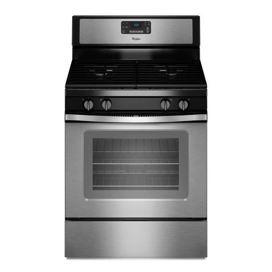 Whirlpool 5.0 Cu. Ft. Freestanding Gas Range with AccuBake Temperature Management System