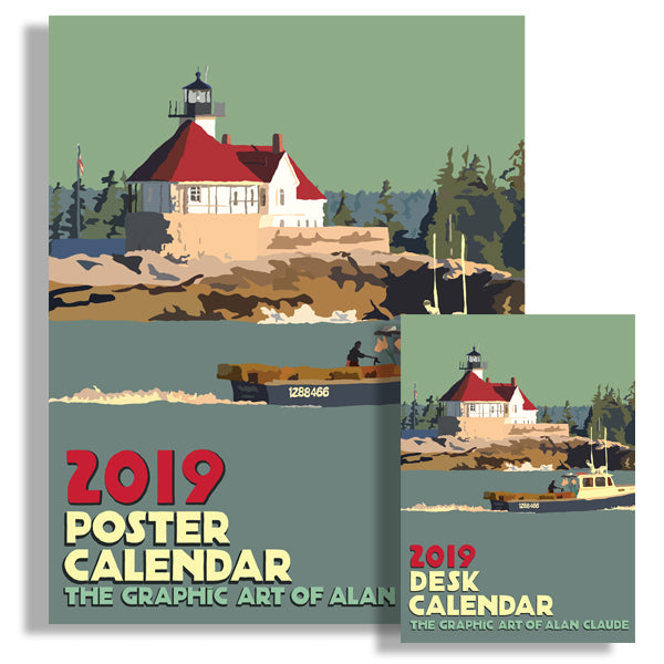 NEW! 2019 Poster and Desk Art Calendars