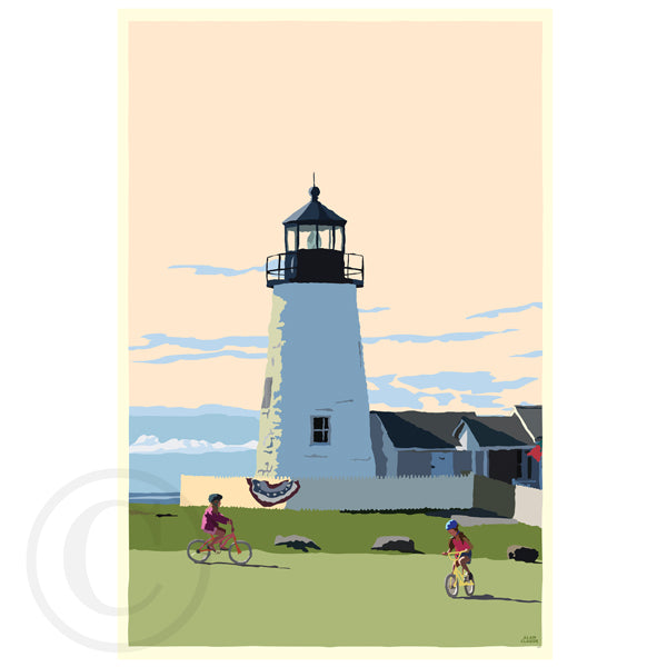 NEW! Pemaquid Bicycle Girls
