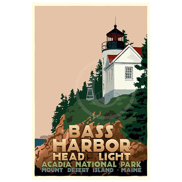 Bass Harbor Head Light - ME