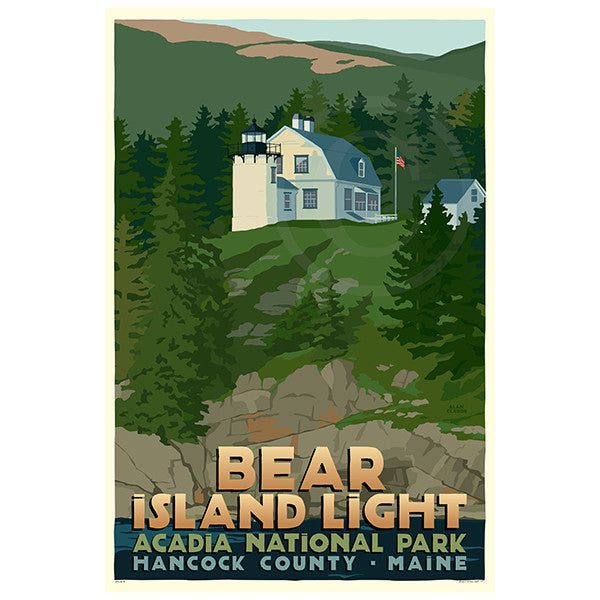 Bear Island Light - ME