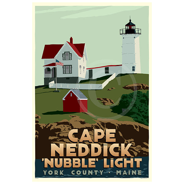 Cape Neddick Nubble Light - ME
