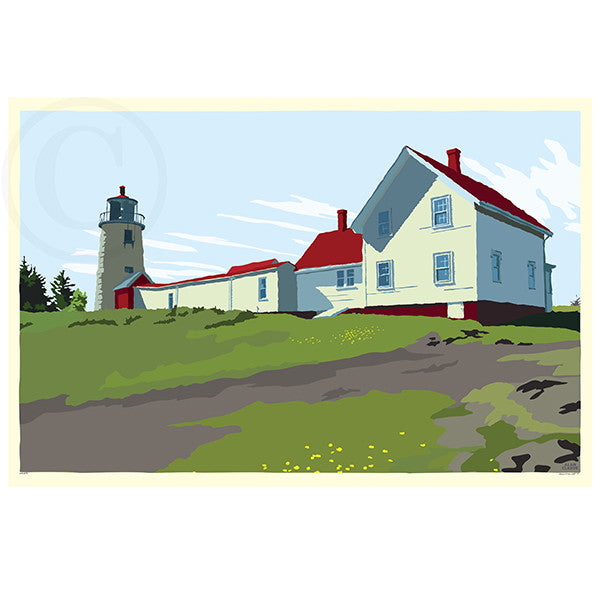 NEW! Monhegan Island Light