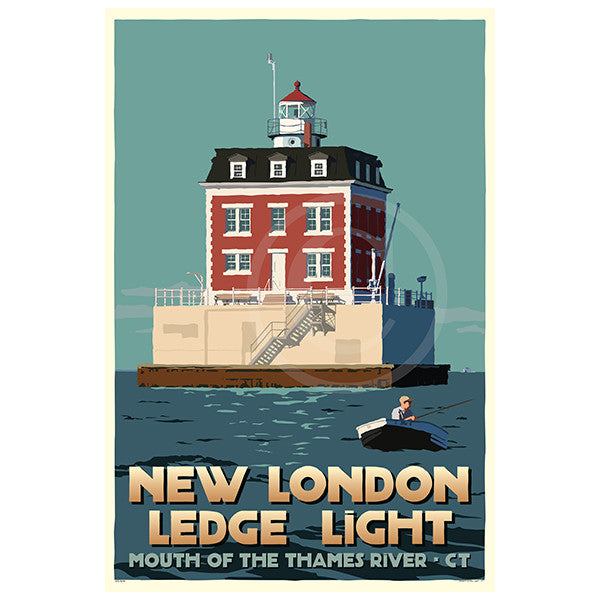 New London Ledge Light - CT