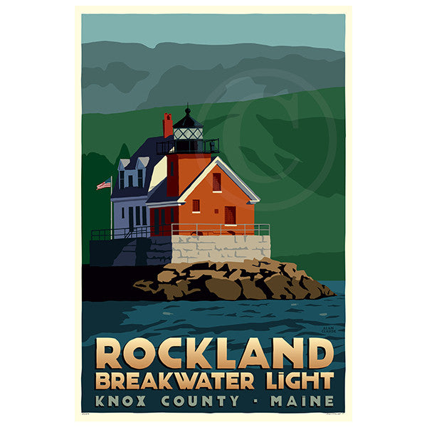 Rockland Breakwater Light - ME
