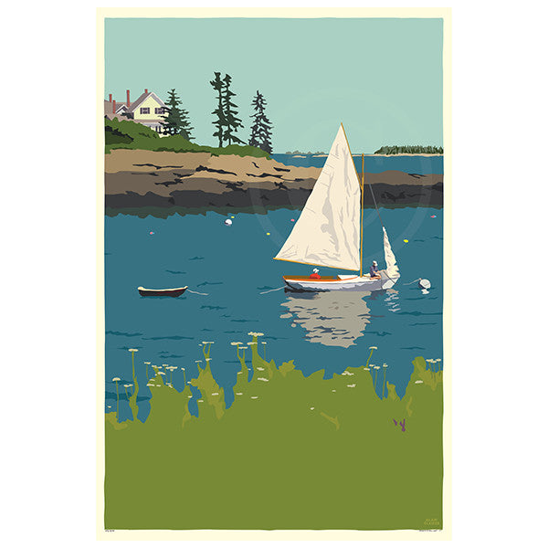 Sailing Long Cove - ME