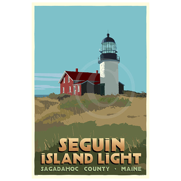 Seguin Island Light - ME
