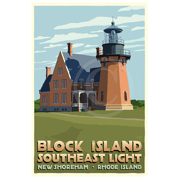 Block Island Southeast Light  - RI