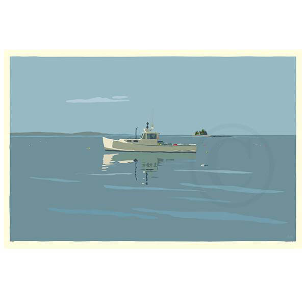 NEW! Tranquility Lobster Boat