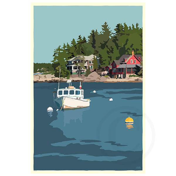 NEW! Lobster Boat At Five Island