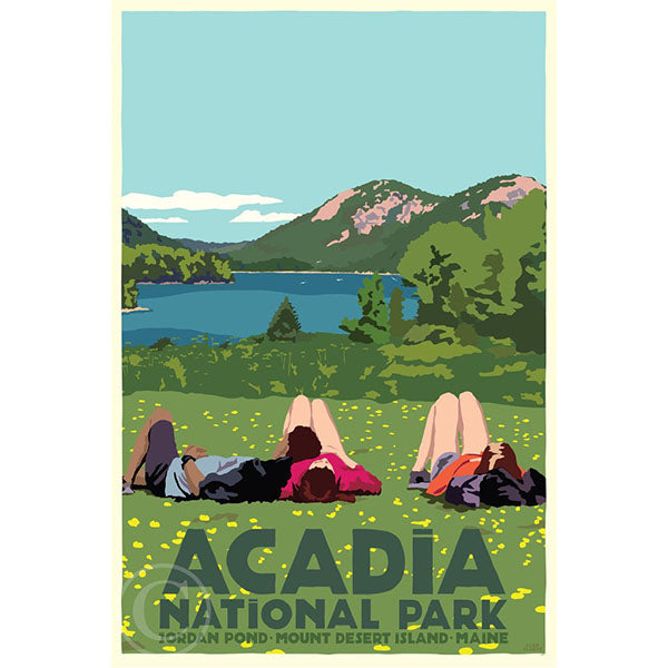 NEW - Hikers in Acadia National Park