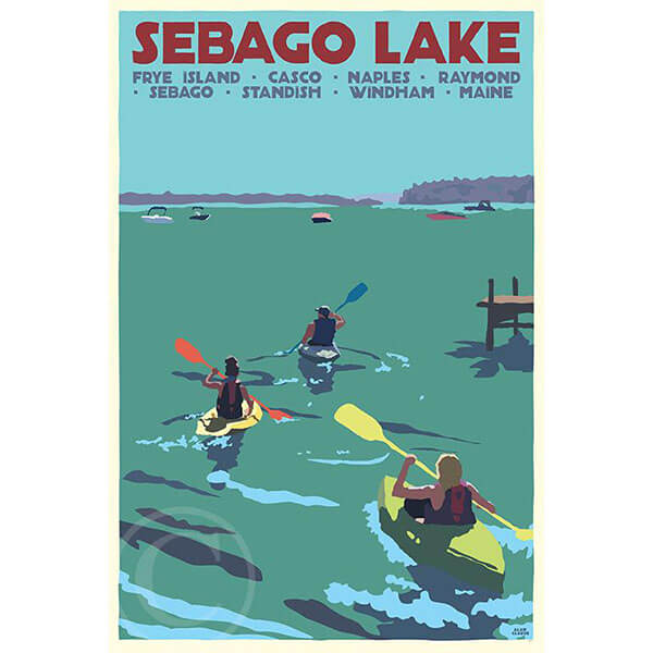 Sebago Lake Kayakers