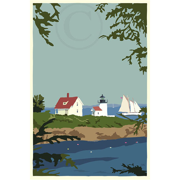 NEW - Camden Lighthouse