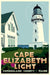 "Cape Elizabeth Light Art Print 24"" x 36"" Travel Poster - Maine"