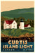 "Curtis Island Light Art Print 24"" x 36"" Travel Poster - Maine"