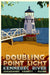 "Doubling Point Light Art Print 24"" x 36"" Travel Poster - Maine"