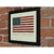 "GIVE IT YOUR BEST! USA Flag Art Print 8"" x 10"" Framed"