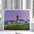 "Sunrise at Beavertail Light Art Print 8"" x 10"" Wall Poster - Rhode Island"
