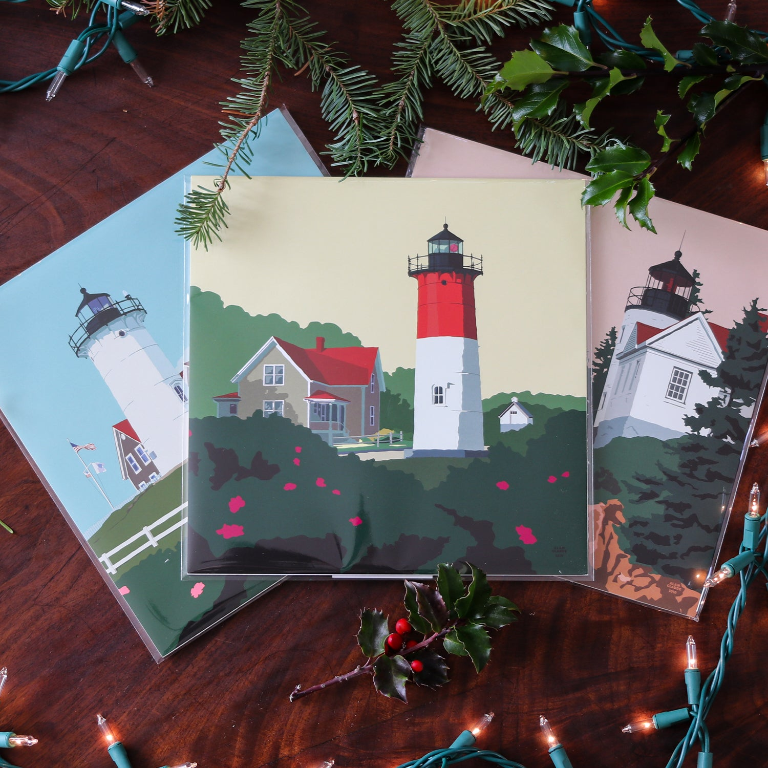 3 8x8's Lighthouse prints for $39