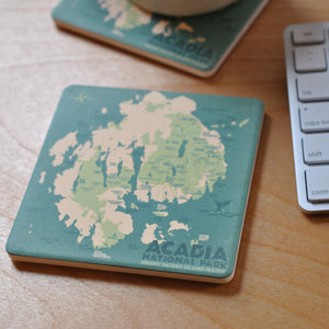 Acadia National Park Coaster