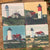 4 Coasters for $36 - Cape Cod Lighthouses