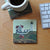 Cape Neddick Nubble Light Art Drink Coaster - Maine
