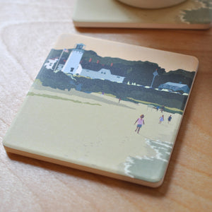 Chatham Lighthouse Kids Art Drink Coaster - Massachusetts