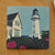 Cape Elizabeth Light Art Drink Coaster - Maine