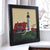 "Portland Head Light Art Print 8"" x 8"" Framed"