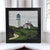 "Highland Light Art Print 8"" x 8"" Framed"