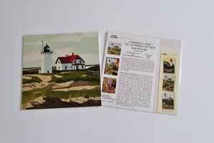 "Race Point Light Art Print 8"" x 8"" Square"